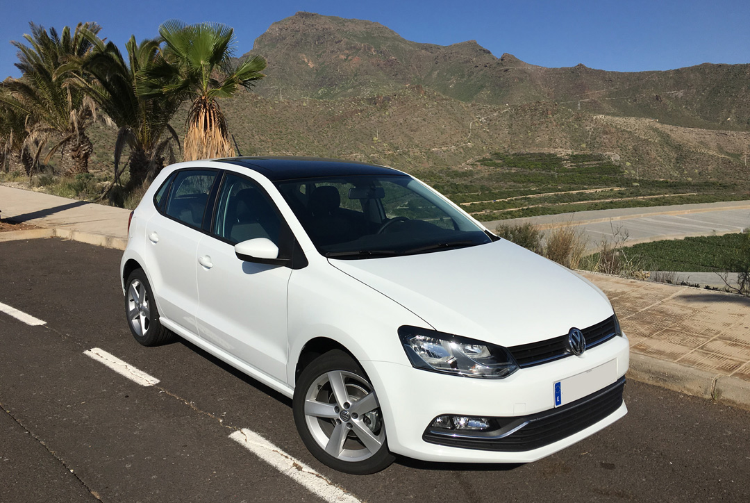 VW Polo TENERIFE SPORTS CARS RENT - Manual sports cars