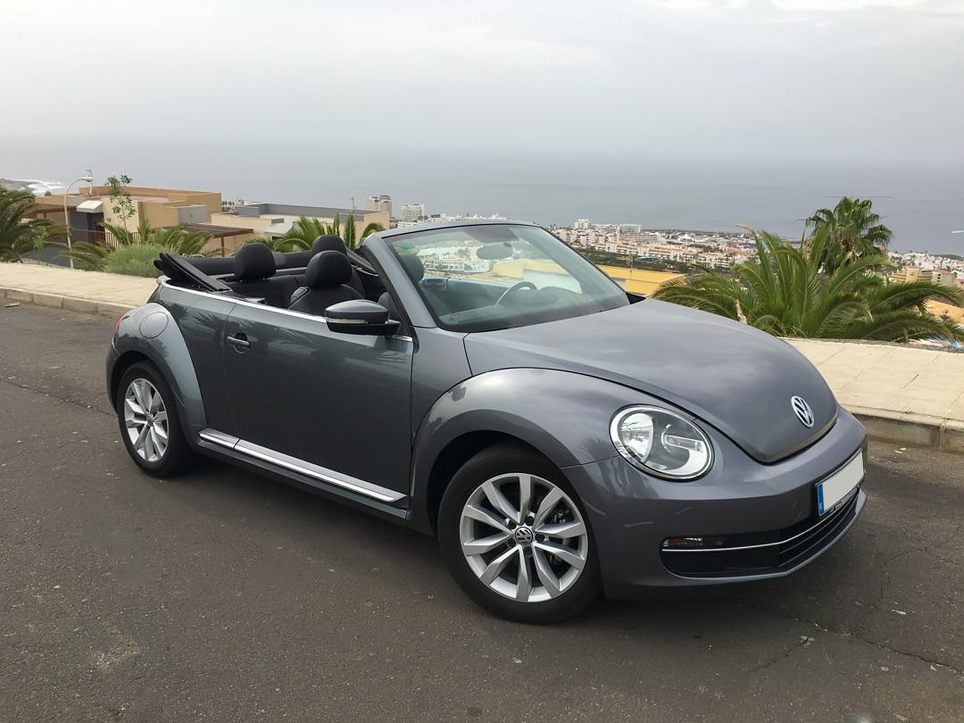 vw beetle cabrio gray. Black Bedroom Furniture Sets. Home Design Ideas