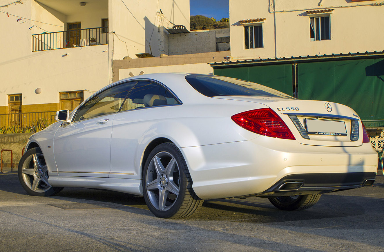 Mercedes benz cl550 4 matic automatic for Mercedes benz cl550