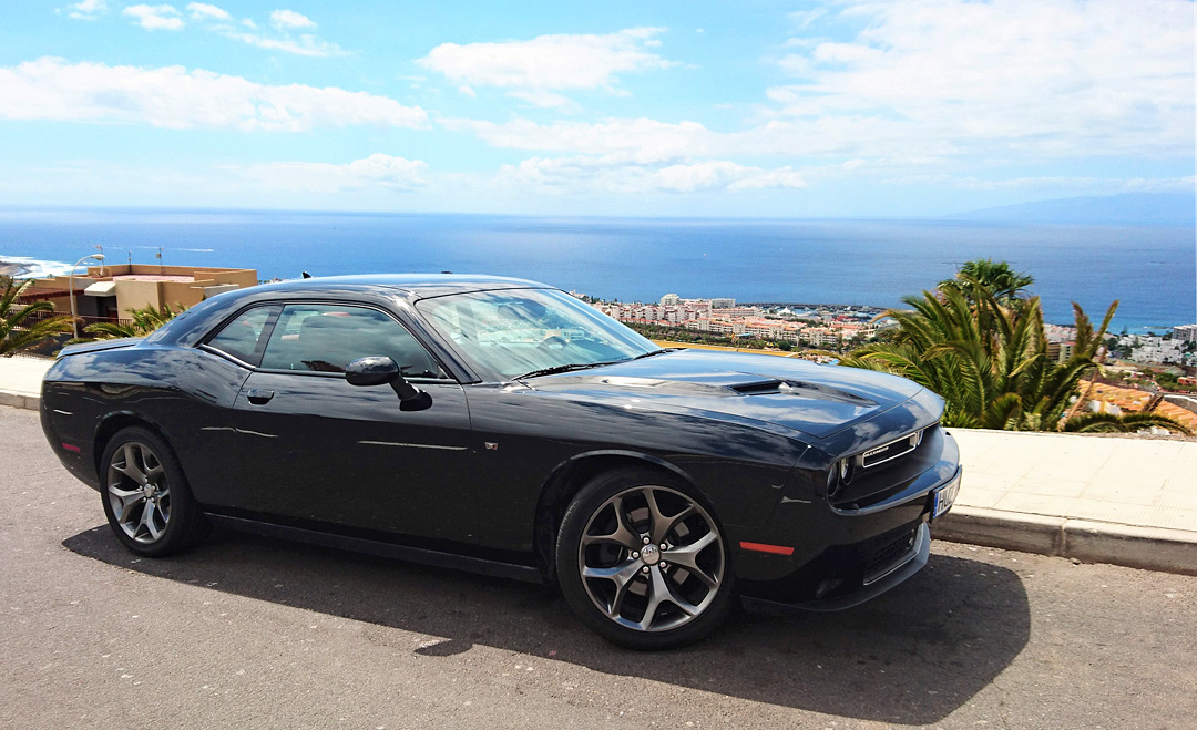 Dodge Challenger V AUTOMATIC TENERIFE SPORTS CARS RENT - Automatic sports cars