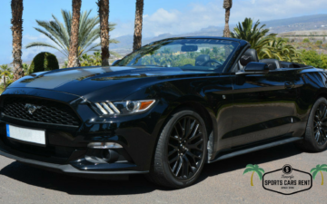 Ford Mustang Black - AUTOMATIC